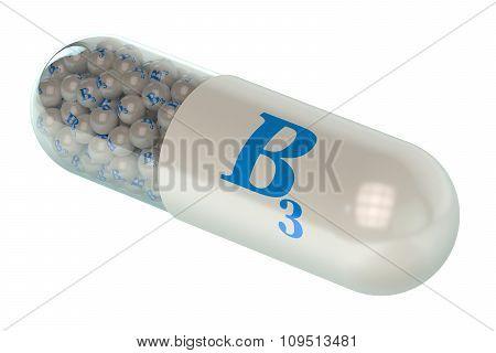 Vitamin Capsule B3