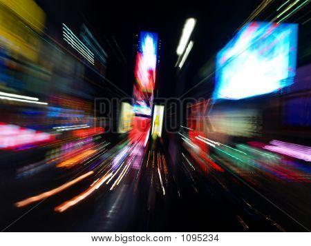 Ny Time Square At Night #4