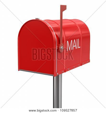 Mailbox (clipping path included)