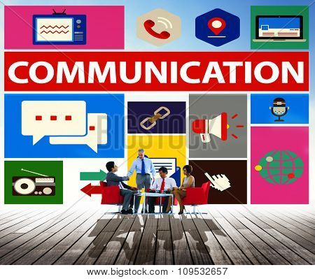 Communication Instant Messaging Chatting Talking Concept