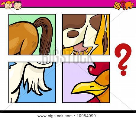 Educational Puzzle Task For Kids