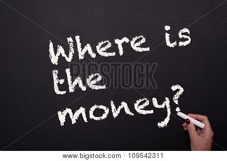 Concept Of Profit Oriented Thinking On Blackboard