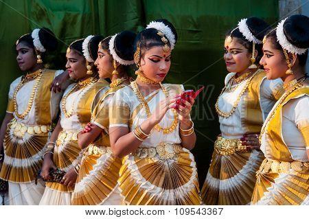 Dancers Mahabalipuram
