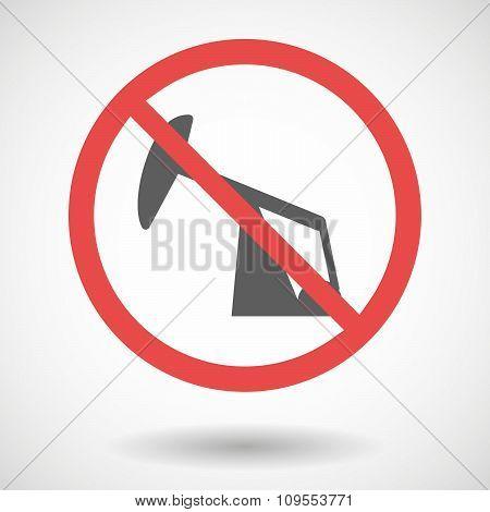 Forbidden Vector Signal With A Horsehead Pump