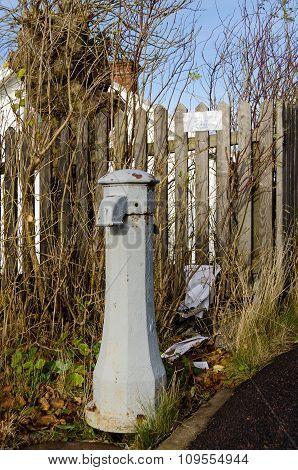 Old Waterpump In Sweden Not In Use