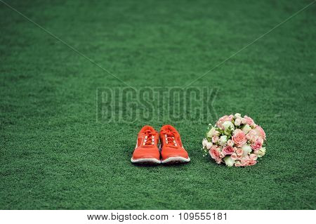 Bouquet And Sneakers
