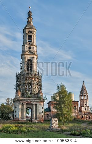 Belltower of church of Nikita Velikomuchenik