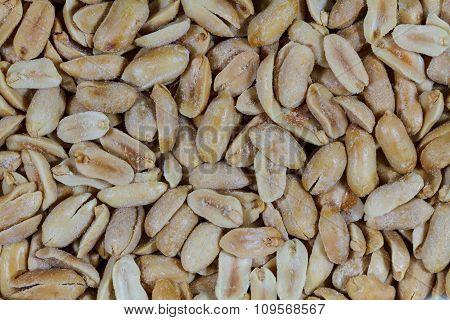 Close up of peanuts
