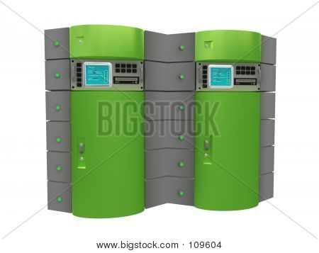 Green 3d Server