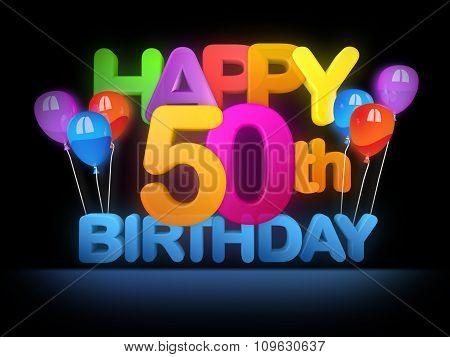 Happy 50Th Title, Dark