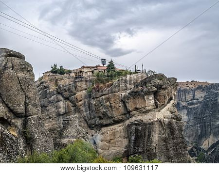 Monastery On The Rock
