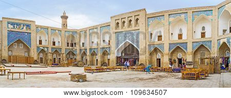 Panorama Of The Madrassah