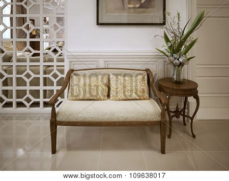 Banquette Bench Classic Style
