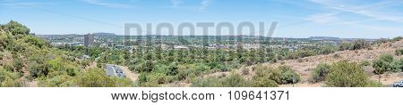 Panoramic View Of The Western Parts Of Bloemfontein