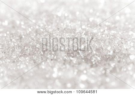 Sugar Crystals Close-up