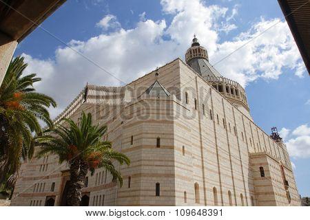 Basilica of the Annunciation. Catholic Church in Nazareth