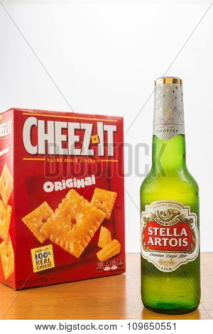 Beer And Cheese Crackers
