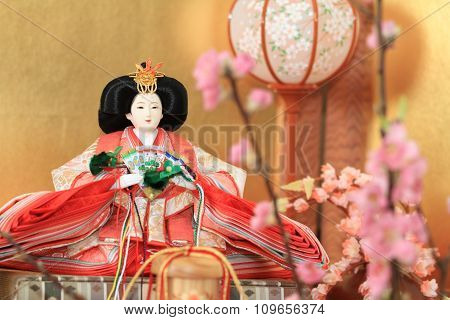 Hina doll (Japanese traditional doll)