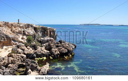 Limestone Edges at Cape Peron, Western Australia