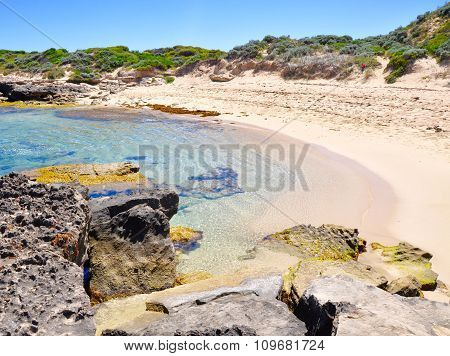 Secluded Beach at Cape Peron, Western Australia