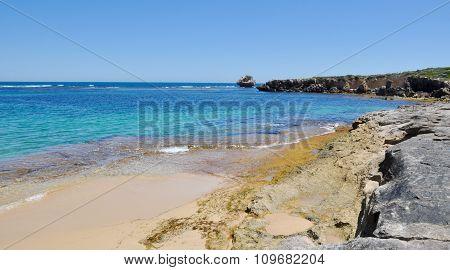 Limestone and Turquoise Waters: Cape Peron, Western Australia