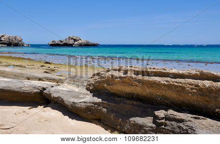Wave-cut Rock Formations: Cape Peron, Western Australia