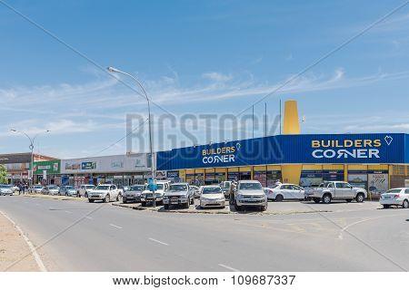 Shopping Center At Emily Hobhouse Square