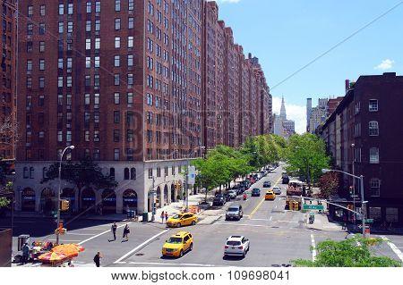 10 Av W23 Street View From High Line Park