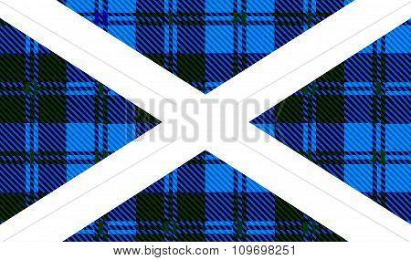 Scottish Tartan Flag