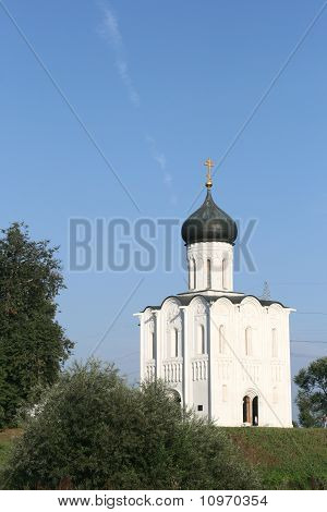 Church of the Intercession on Nerl river in Bogolyubovo