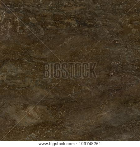 Dark brown marble natural stone texture background. Approximately 2 by 2 foot area.