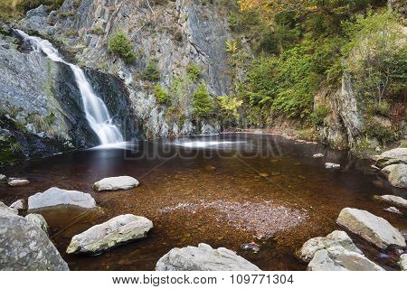 Bayehon Waterfall Long Exposure, Belgium