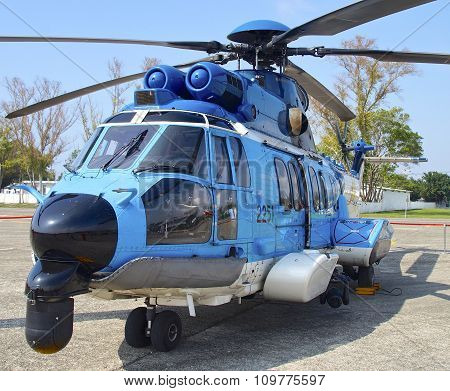EC-225 helicopter