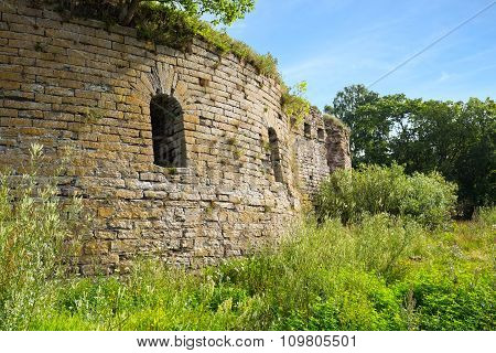 Ivangorod Fortress Ruins