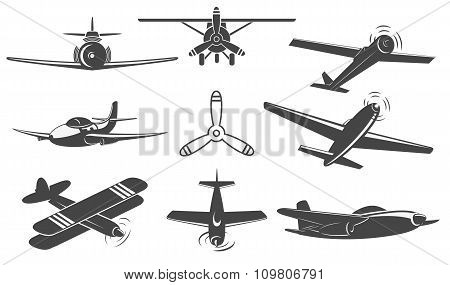 Planes Set In Vector