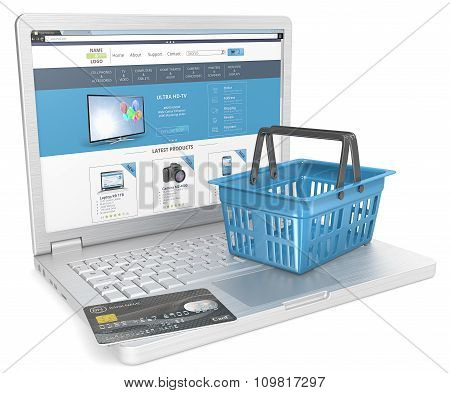Web Shopping.