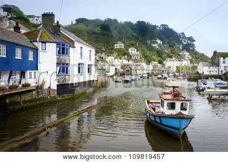 Polpero Cornwall England