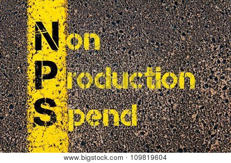 Business Acronym Nps As Non Production Spend