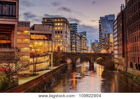Manchester City Centre, Uk