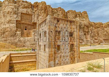 Naqsh-e Rustam Cube of Zoroaster