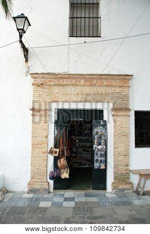 Gift shop, Vejer de la Frontera.