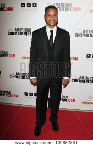 LOS ANGELES - DEC 12:  Cuba Gooding Jr at the 27th American Cinematheque Award at the Beverly Hilton Hotel on December 12, 2013 in Beverly Hills, CA