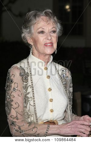 LOS ANGELES - FEB 15:  Tippi Hedren at the Make-Up Artists And Hair Stylists Guild Awards 2014 at the Paramount Theater on February 15, 2014 in Los Angeles, CA