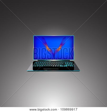 The Modern Ultro-thin Laptop.
