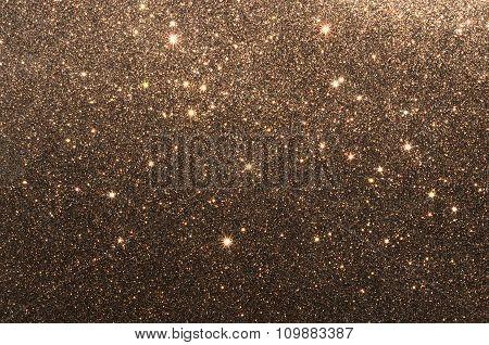 Brown glitter paper texture