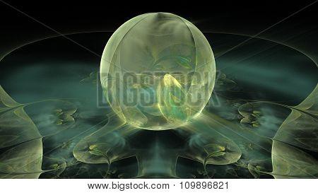 Alien Space Flower Orbitiva