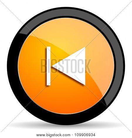 prev orange icon