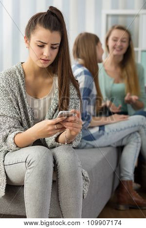Girls Stalked By Peer