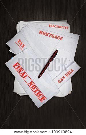 Home Budget Bills