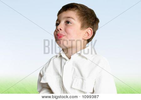 Childhood Development - Blowing Raspberries